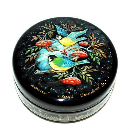 Russian decorative box Birds