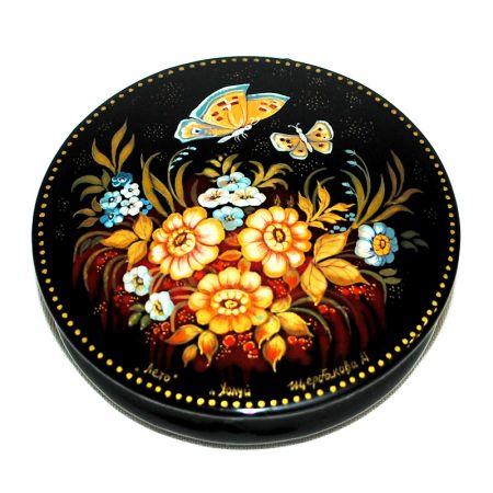 Russian decorative box Summer breeze