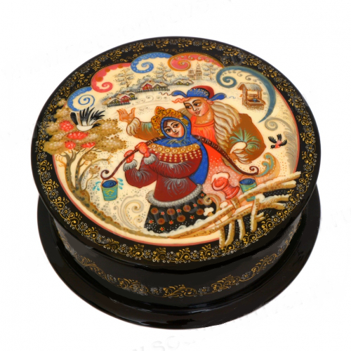 Russian decorative box Traditional