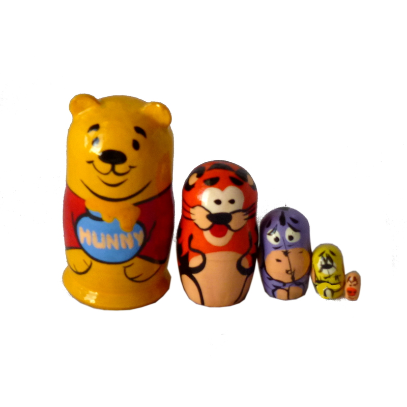 Russian doll Winnie-the-Poohl