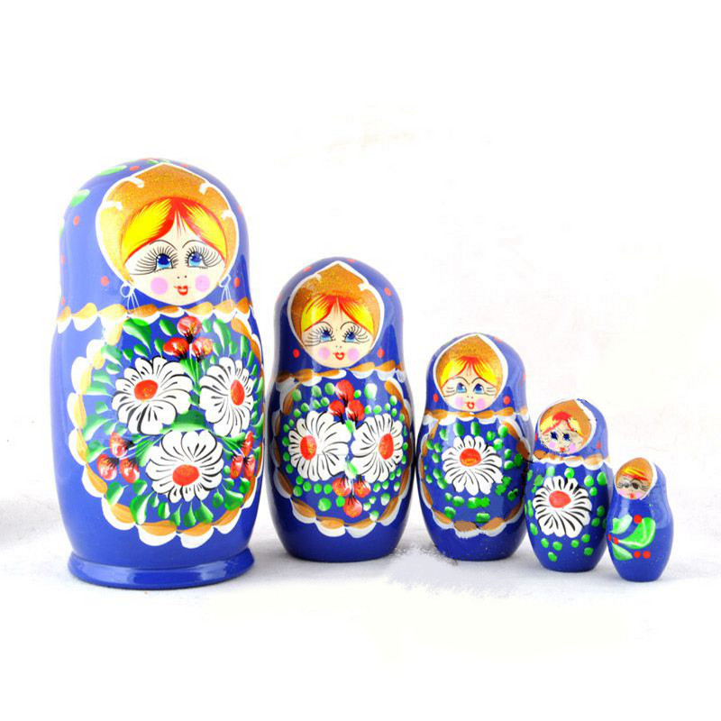 Russian doll Margarita Blue_all