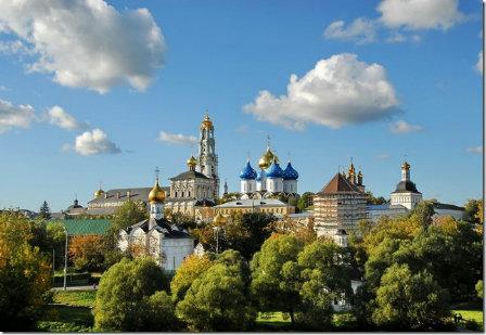 Sergiev-Posad town