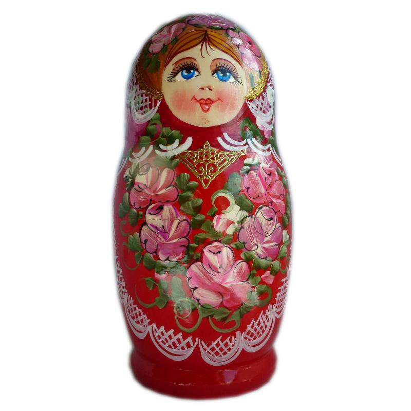 Russian doll Valeria, 5 piece set