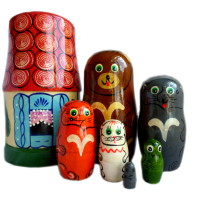 Russian doll_Fairy house_all