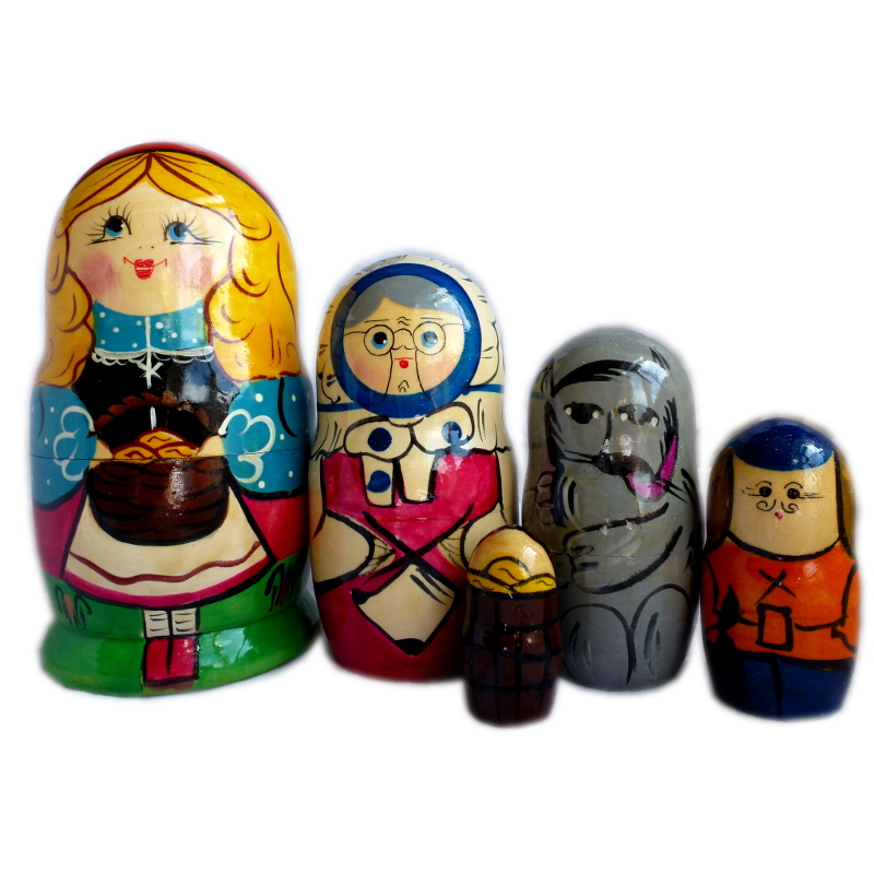 Russian doll_Little Red Riding Hood_all